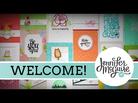 Welcome to My Channel - Jennifer McGuire Ink