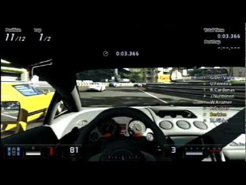 Gran Turismo 5 Gameplay - Cote De Azur (Monaco) - Lamborghini Gallardo