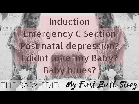 THE BABY EDIT | MY BIRTH STORY | EMERGENCY C SECTION | Lucy Jessica Carter