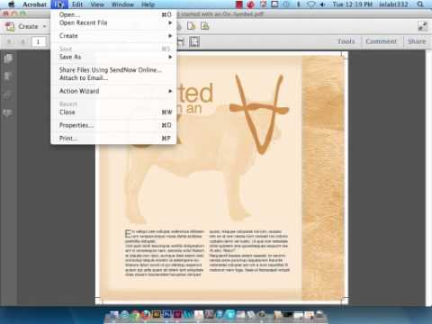 Creating PDFs & IDML files and Printing from PDFs and InDesign