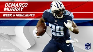 DeMarco Murray Helps Lead Tennessee to Victory! | Colts vs. Titans | Wk 6 Player Highlights