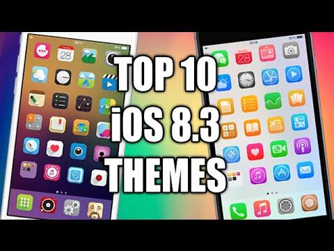 TOP 10 iOS 8.3 Jailbreak WinterBoard Themes