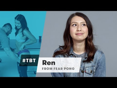 Ren from Blind Dates Play Fear Pong | #TBT | Cut