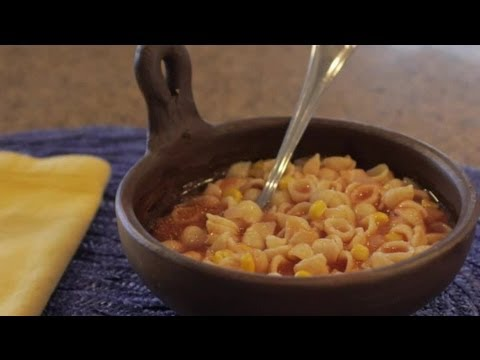 How to Cook Mexican Shelled Pasta : Latin Cuisine