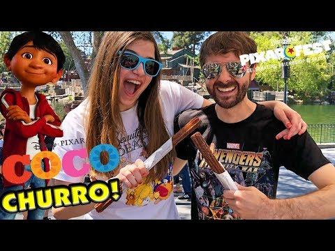 Pixar Fest COCO CHURRO in Disneyland!