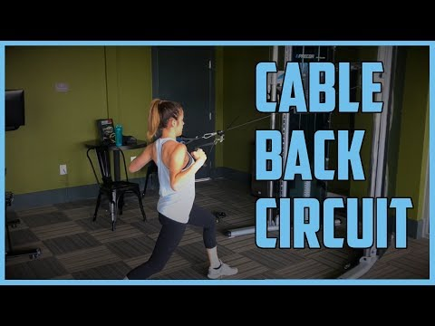 Cable Workout: Back Circuit
