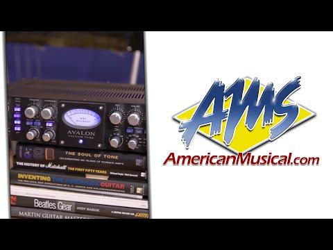 Avalon Design VT737SP Overview - Avalon Design VT737SP Direct Recording Channel Strip