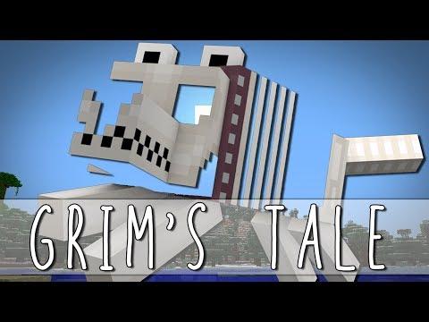 GRIM'S TALE | How I Met Grim The Skeleton Dog | Minecraft