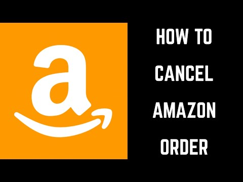How to Cancel Amazon Order