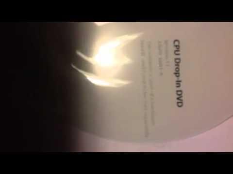 iLife 11 CPU drop in DVD