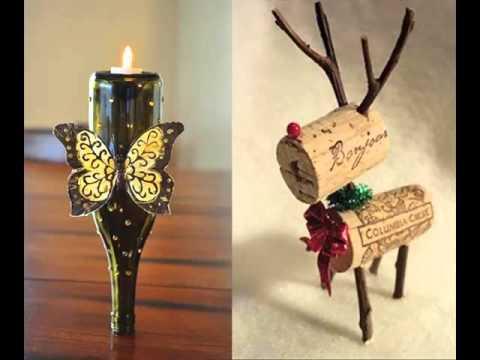 Empty Wine Bottle Craft Ideas | Home Decration Picture Ideas