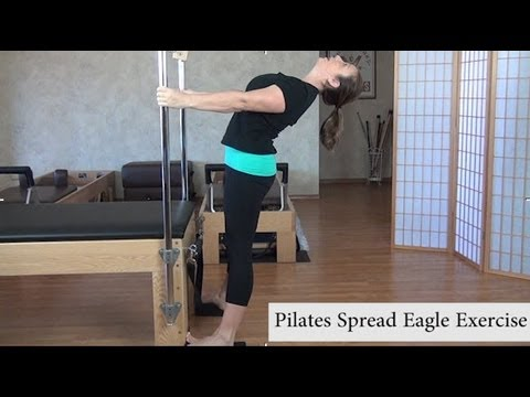 Pilates Back Exercise - Spread Eagle for Back Extension and Mobility of the Ribcage