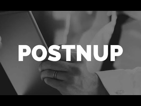What is  a Postnup?