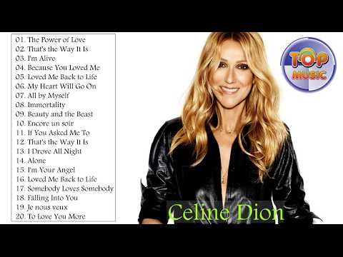 Best Songs Of Celine Dion 2017 - Celine Dion Greatest Hits Cover