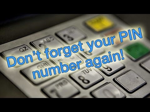 How to remember your PIN