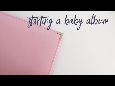 Creating A First Year Baby Book | EP 02 | Project Life Scrapbooking Baby Album