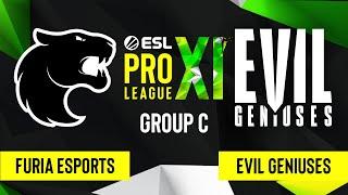 CSGO Evil Geniuses Vs FURIA Esports Mirage Map 2 ESL Pro League Season 11 Group C