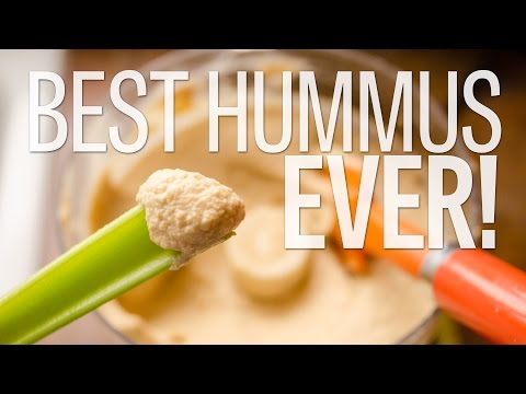 Best Hummus Ever | Smooth and Delicious | Make it Yourself