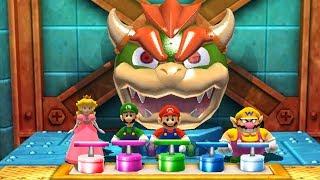 Mario Party: The Top 100 Minigames - Peach Vs Mario Vs Luigi Vs Wario(Hard CPU)