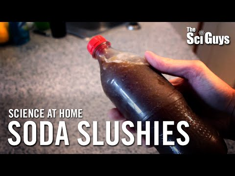 The Sci Guys: Science at Home - SE1 - EP17: Supercooled Soda Slushies