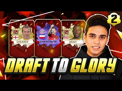 INSANE LEGEND DRAFT! - FUT DRAFT TO GLORY #02 - FIFA 16 Ultimate Team