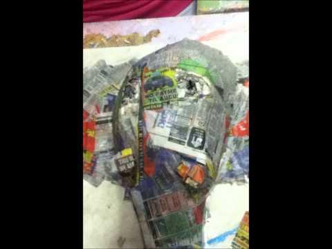 🐘How to paper mache a elephant mas🐘