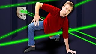 TRAPPED by PROJECT ZORGO SPY LASER ESCAPE ROOM (Game Master Abandoned Riddles of Missing Daniel)