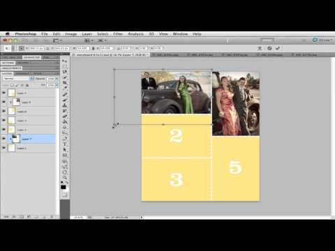 Using Storyboard Templates in Photoshop