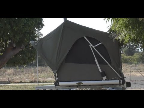 OFF ROAD RV - Camper Trailer. The New Electric Rooftop Tent