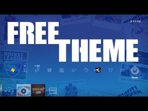 FREE PS4 THEME PlayStation Store 10 Year Anniversary