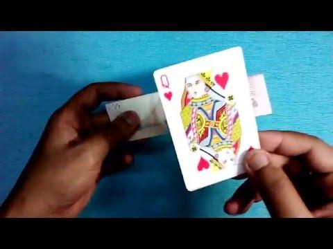 Card Through Bill Trick Performance & Tutorial