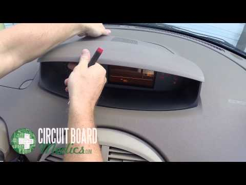 Nissan Quest Instrument Cluster Repair and Removal