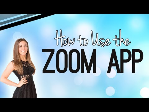 How to Use the Zoom App from iPhone