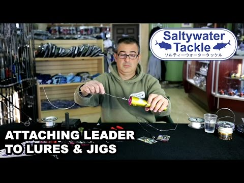 How to Attach Leader to Your Lure & Jig