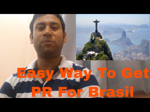 How To Get Brasil Permanent Residency