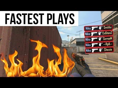 CS:GO - Fastest Plays