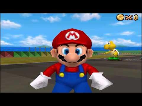 SNES Mario Circuit 1 in Super Mario 64 DS [CUSTOM LEVEL]