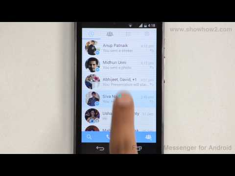 Facebook Messenger For Android - How To Send A Voice Message