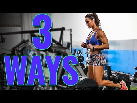 3 Ways to Build Glutes Hams & Lower Back with Erin Stern