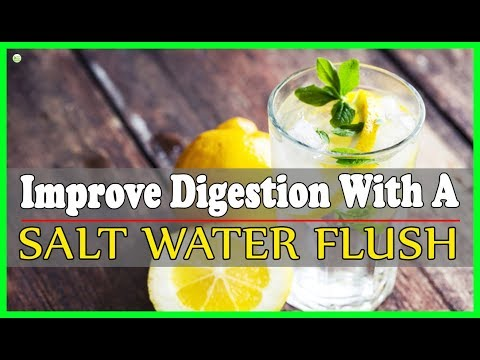 How To Make Salt Water Flush For Master Cleanse? | Best Home Remedies
