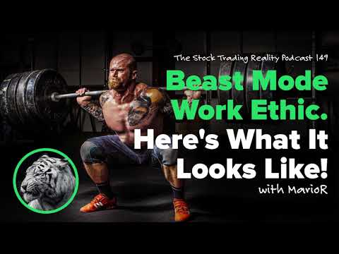 STR 149: Beast Mode Work Ethic. Here's What It Looks Like! (audio only)
