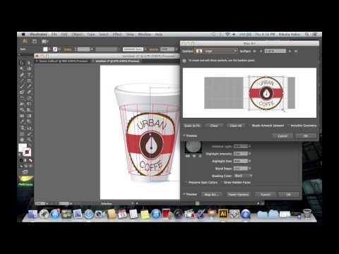 Adobe Illustrator CS6 Coffee Cup