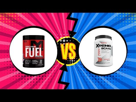 BCAAs REVIEW - Machine Fuel vs. Scivation Xtend