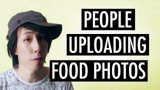 People Uploading Food Photos To Instagram & Facebook