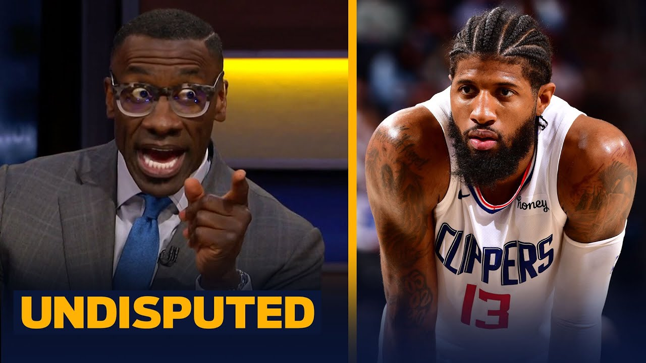 I still don't trust Paul George leading the Clippers in playoffs — Shannon Sharpe | NBA | UNDISPUTED
