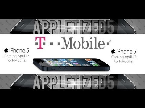 PRE ORDER YOUR T-MOBILE IPHONE 5 NOW !