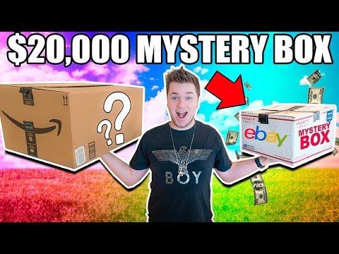 $10 VS $20,000 EBAY MYSTERY BOX CHALLENGE!! 📦⁉️ Cash, Poo Toys & More