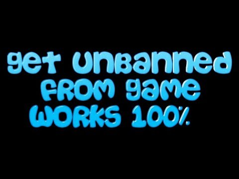 How to change IP and unban from any game!Works 100%!
