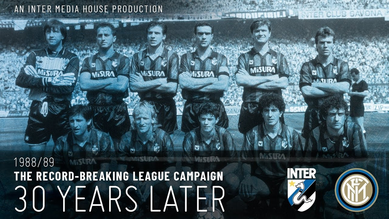 INTER 1988/89 THE RECORD-BREAKING CAMPAIGN - 30 YEARS LATER   An IMH Production 🐍🖤💙 [CC ENG+ITA]