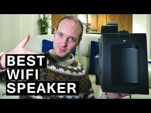SONOS PLAY 1 - Wireless Speaker 2018: Unboxing and Setup (including stereo pairing)